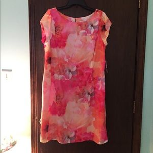 Multi color Liz Claiborne dress NWT